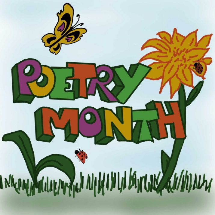 Poetry Month 2019 Logo