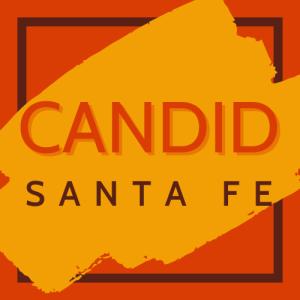 Candid Santa Fe logo.