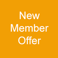 Gold Square with white text - New Member Offer
