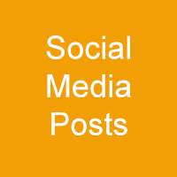 gold square with white words - Social Media Posts